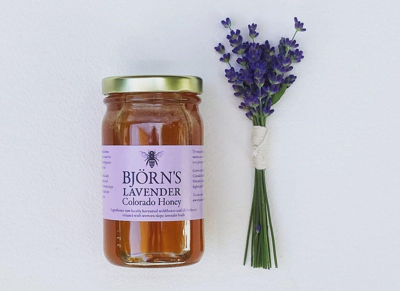 Bjorns Colorado Honey Lavender Honey